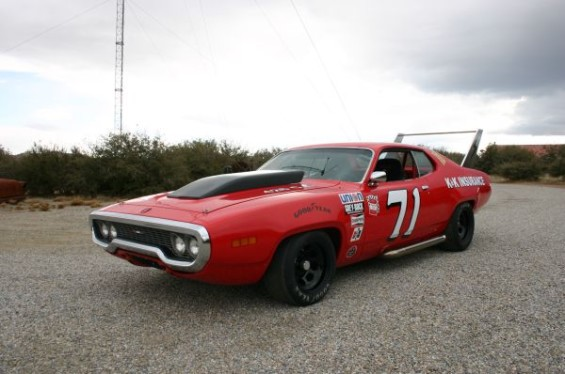 Plymouth Satellite NASCAR