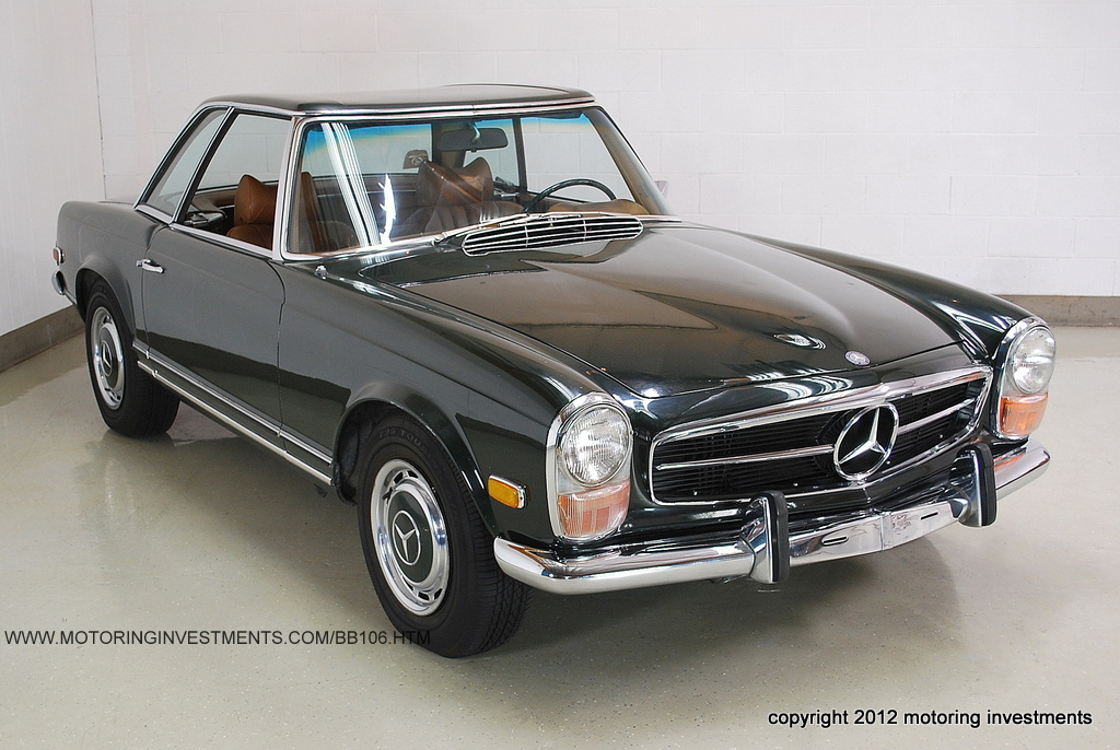 Honest 69 mercedes benz 280sl mint2me for Mercedes benz 280sl parts