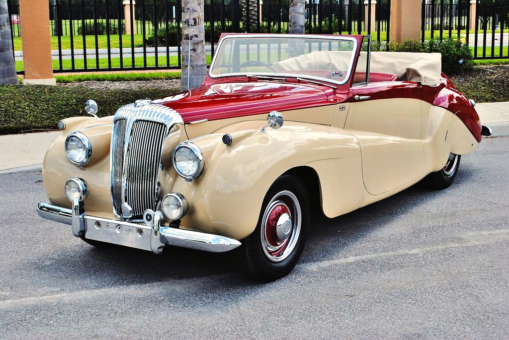 Tone Drop Top Daimler Sports Special Convertible