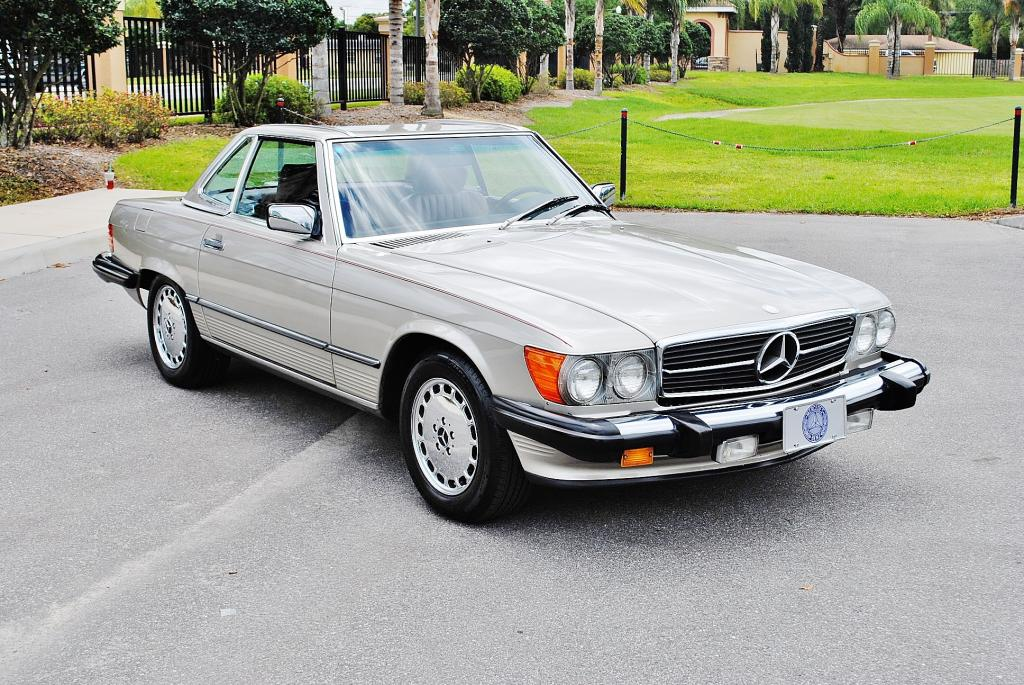Solid elegant 86 mercedes benz 560sl mint2me for Mercedes benz 560sl