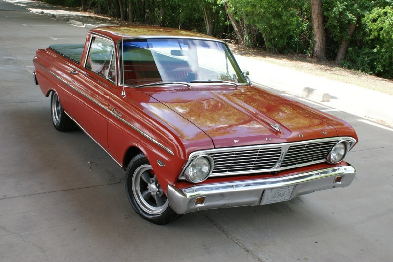 Not Really A Pickup 65 Ford Ranchero