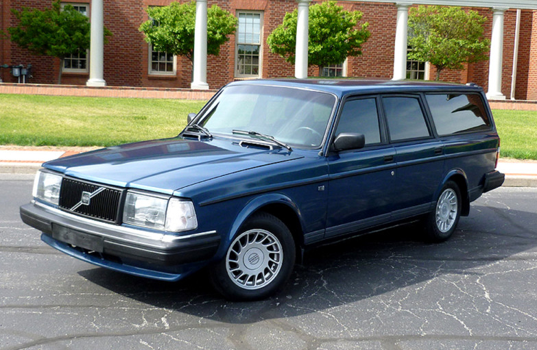 not just a used car 88 volvo 240 dl wagon mint2me