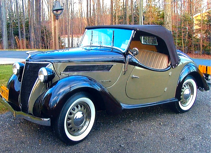 37 Ford Eifel Roadster