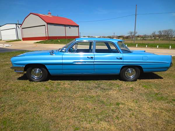 Pre Purchase Car Inspection >> 1 of 1: '61 Pontiac Catalina, 4-door, Tri-power, & 4-Speed ...
