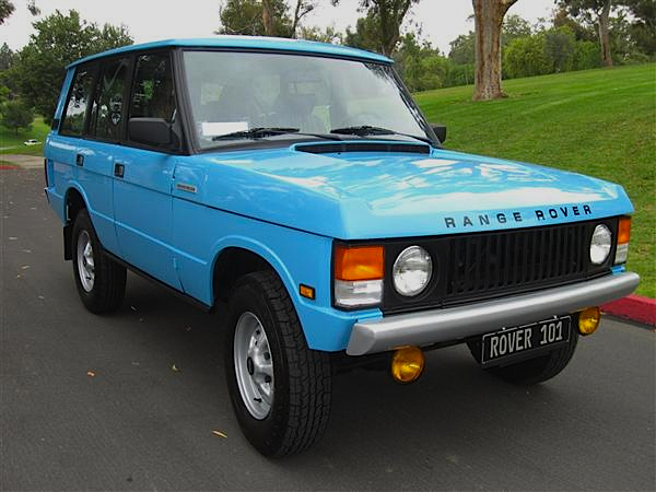 Pre Purchase Car Inspection >> Tuscan Sky: '87 Range Rover Classic   Mint2Me