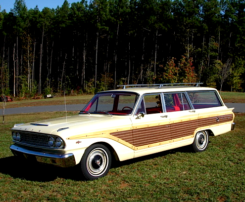 63 Fairlane Station Wagon Related Keywords & Suggestions