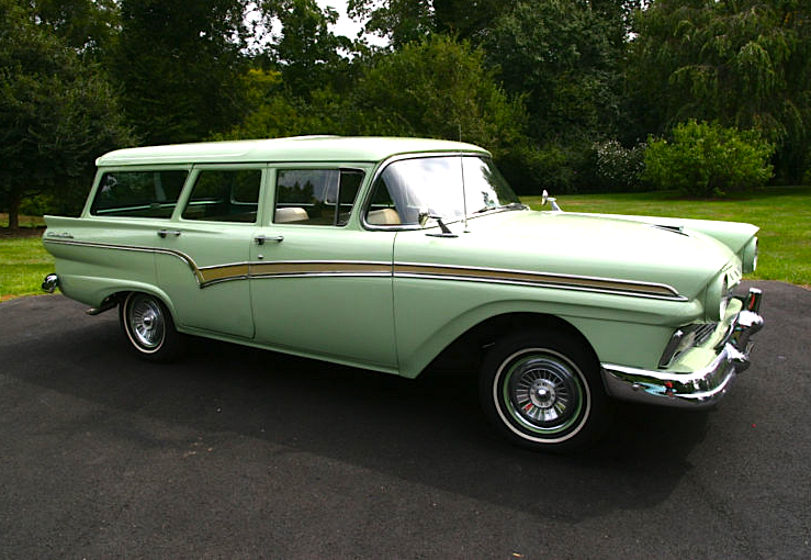 Part One 57 Ford Country Station Wagon Mint2me