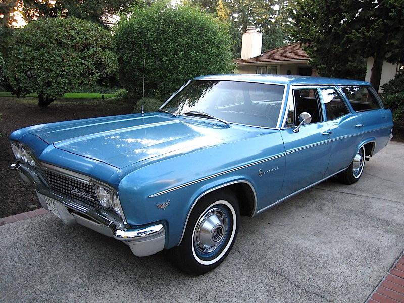 99 66 Chevrolet Impala Wagon Mint2me