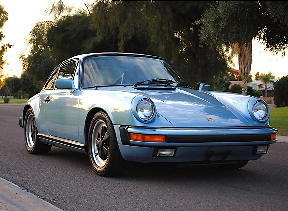 Better In Blue 86 Porsche 911 Carrera Coupe Mint2me