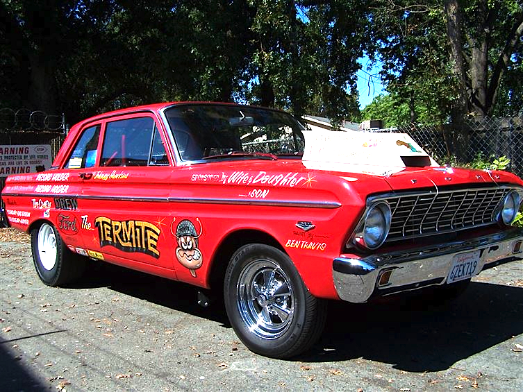 Dirty bird 64 ford falcon historic drag racer mint2me sciox Images