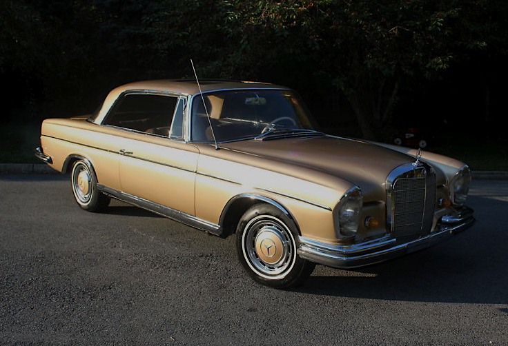flagship 65 mercedes benz 300se coupe mint2me