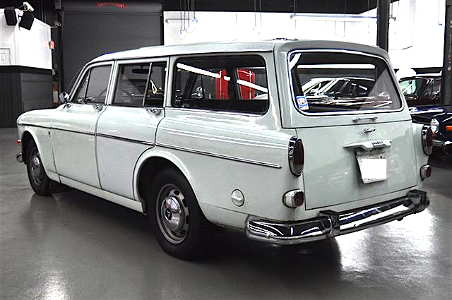 Blank Canvas 67 Volvo 122s Wagon Mint2me