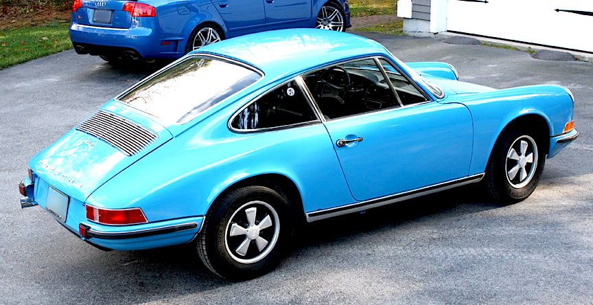 nicely   porsche  coupe mintme
