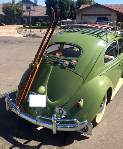 Ovals are cool: '55 Volkswagen Beetle | Mint2Me