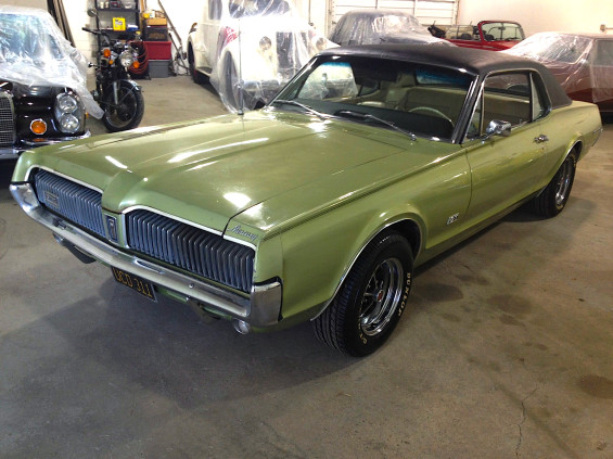 the other guy 67 mercury cougar gt mint2me. Black Bedroom Furniture Sets. Home Design Ideas