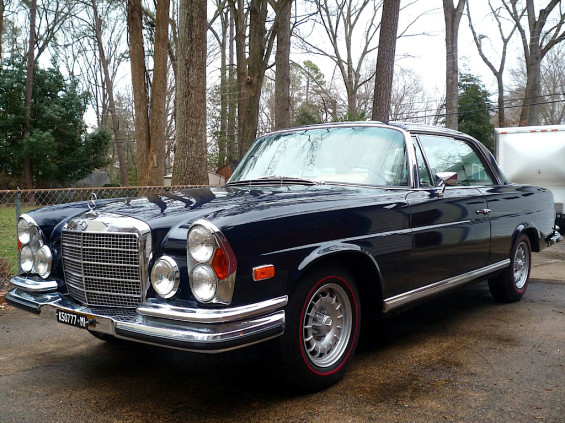 World traveler 70 mercedes benz 280se 3 5 coupe mint2me for Mercedes benz 70