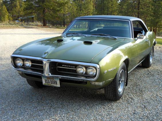 2nd Year 68 Pontiac Firebird 400 Mint2me